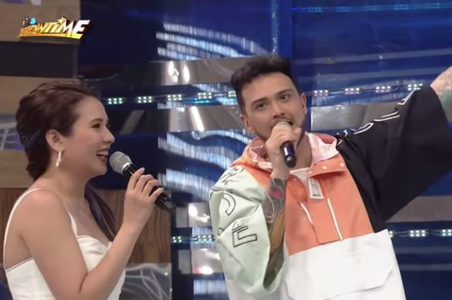 """WATCH: Billy Crawford returns to """"It's Showtime"""""""