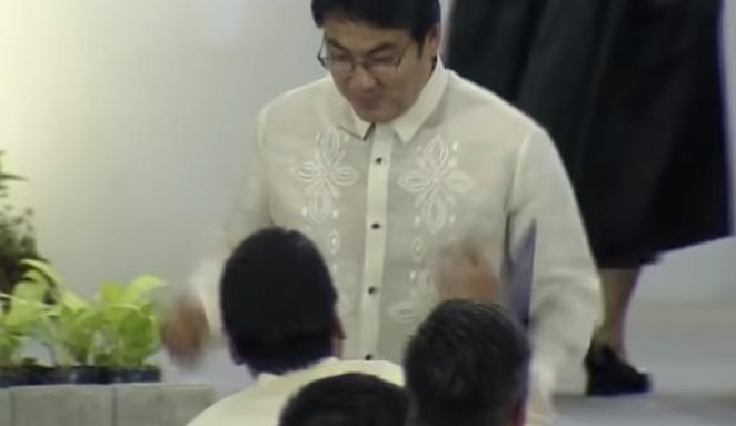 WATCH: Bong Revilla dances after Senate proclamation