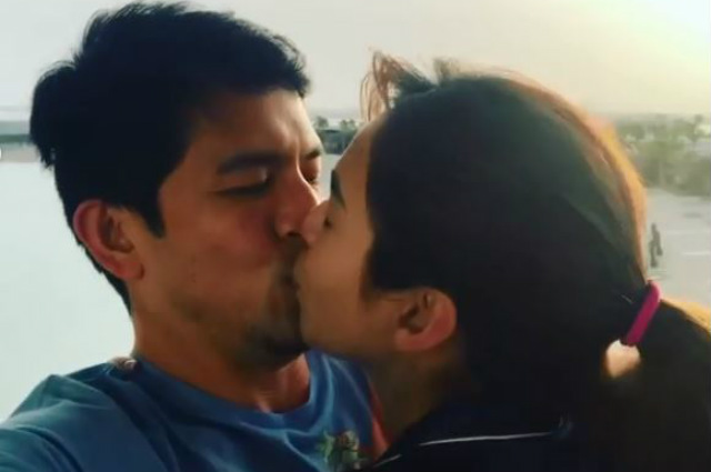 WATCH: Dennis Trillo posts sweet kissing video with Jennylyn Mercado