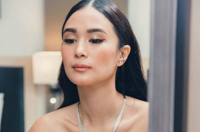 Heart Evangelista responds to claims about her 'edited' sweat in her Instagram post