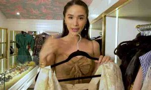 Heart Evangelista gives a tour of her walk-in closet