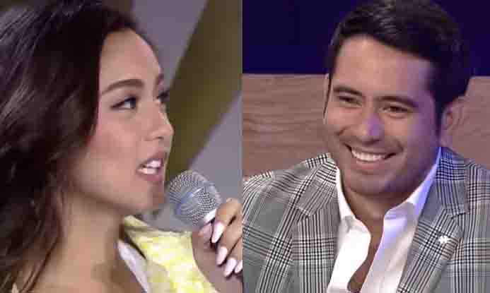 "Gerald Anderson follows Kim Chiu to dressing room after she was teased in ""It's Showtime"""