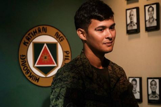 Matteo Guidicelli to stay in Camp Tecson for 45-day military training under AFP