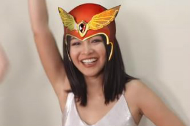 """WATCH: Nadine Lustre shouts """"Darna!"""" for the first time"""