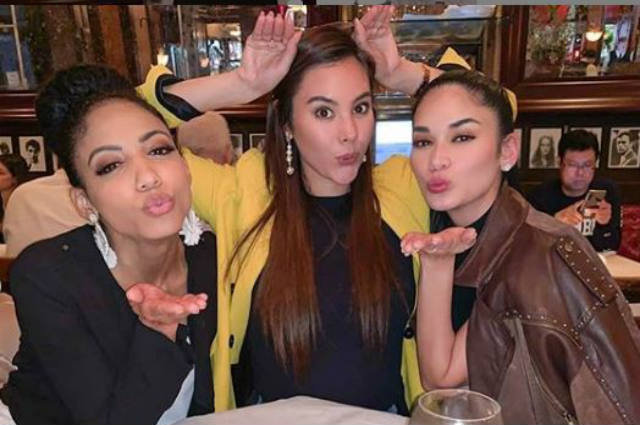 Pia Wurtzbach gets called out by netizens after tagging the wrong Miss USA