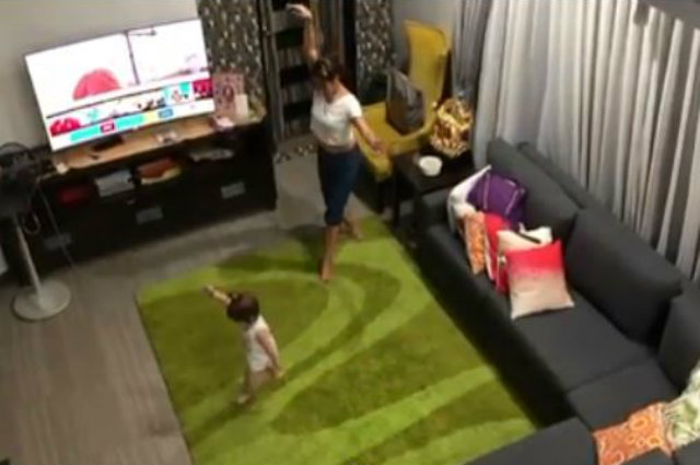 WATCH: Baby Malia and Pokwang share sweet bonding moment while dancing ballet
