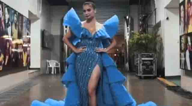 Anne Curtis looks stunning in her outfits during the Bb. Pilipinas 2019 pageant