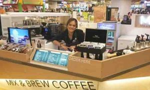 Bea Binene opens her first coffee business