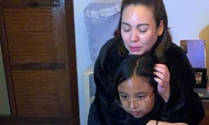 "Claudine Barretto defends daughter Sabina from basher: ""Sya ba pumili na ako maging NANAY NYA?"""