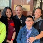 Gretchen Barretto and Dominique Cojuangco bonds with Tonyboy Cojuangco's daughter in the US