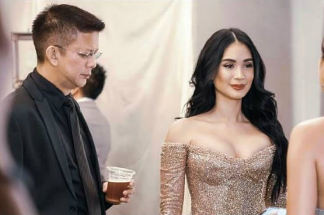 LOOK: Heart Evangelista catches Chiz Escudero getting stunned by her