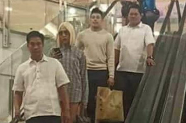 Vice Ganda and Ion Perez spotted shopping together at a mall