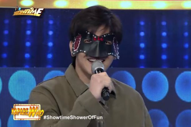 WATCH: Joshua Garcia surprises viewers as a KapareWho contestant on 'It's Showtime'