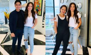 WATCH: Kathryn Bernardo, Coco Martin, and Judy Ann Santos' pleasant meeting caught on video