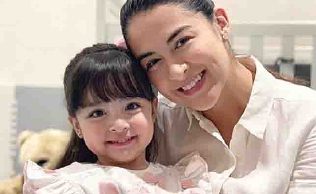 Marian Rivera proud of daughter Zia for doing household chores at a young age