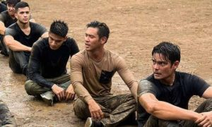 LOOK: Dingdong Dantes shares photos of his military training with 'Descendants of the Sun' co-actors