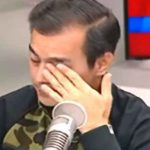 WATCH: Mayor Isko Moreno gets emotional after German Moreno was brought up during interview