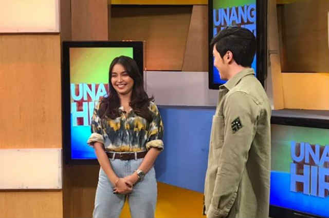 WATCH: Kathryn Bernardo arrives in GMA Network; to guest in Kapuso morning show 'Unang Hirit'