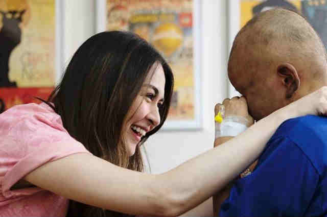 Marian Rivera grants 10-year-old leukemia patient's wish to meet her