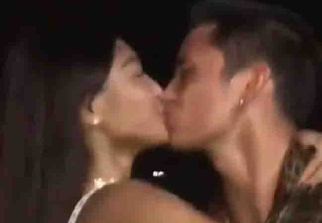 WATCH:  James Reid and Nadine Lustre welcome 2018 with a kiss