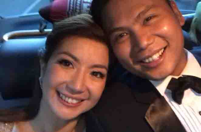 GMA broadcaster Kara David ikinasal na kay LM Cancio