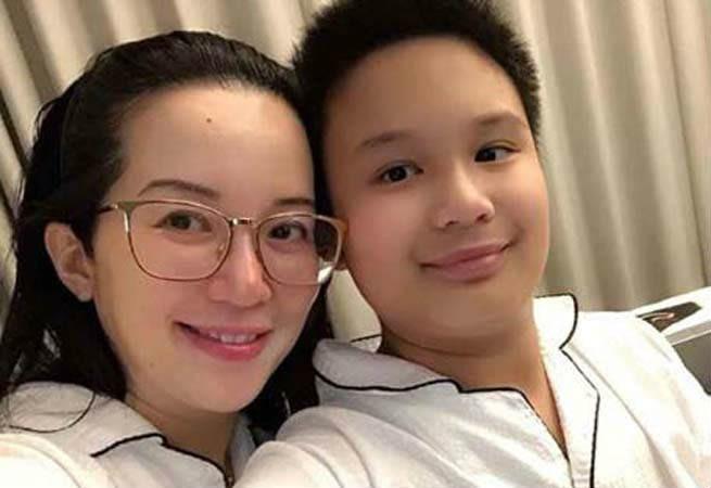 Kris Aquino inimbitahan ang basher para tignan ang kutis ni Bimby