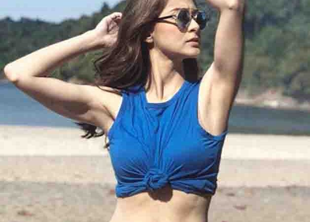 Marian Rivera confidently shows her sexy and flawless underarms