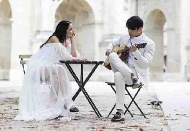 INSTA PIC:  Engagement photoshoot of Maxene Magalona and Rob Mananquil in Paris
