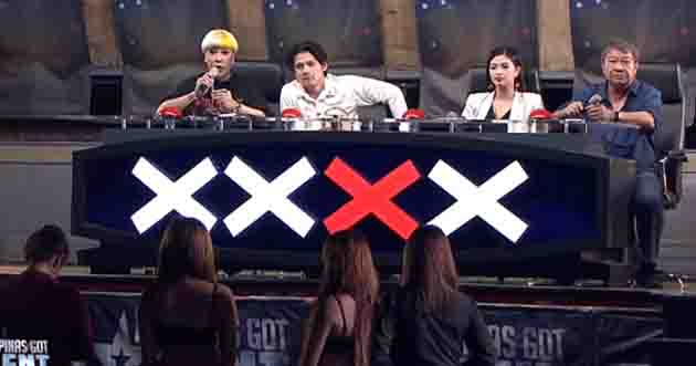 Angel Locsin and Robin Padilla almost had a disagreement over lady dancers on 'PGT'