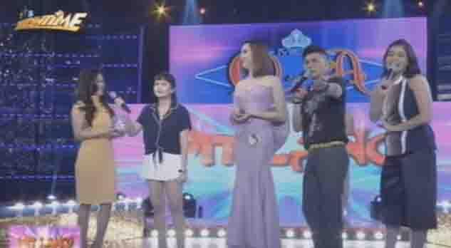 """FunnyMoment:  Anne Curtis to Bela Padilla:  """"Sino bang naka-isa sa yo?"""""""