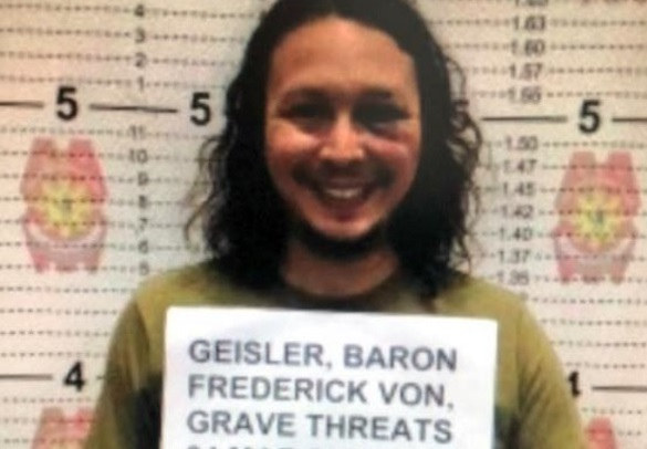 Baron Geisler arrested after threatening brother-in-law with a knife