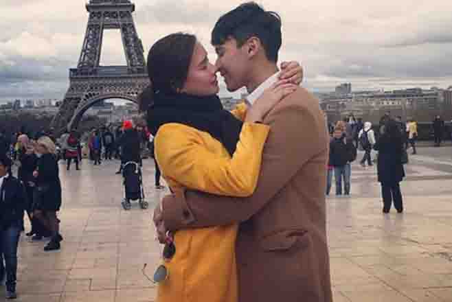 Enchong Dee and Erich Gonzales celebrate friendship in Paris