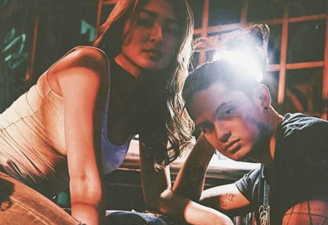 "Netizens hail Nadine Lustre as ""GF of the year"" after viral arm-pushing video"
