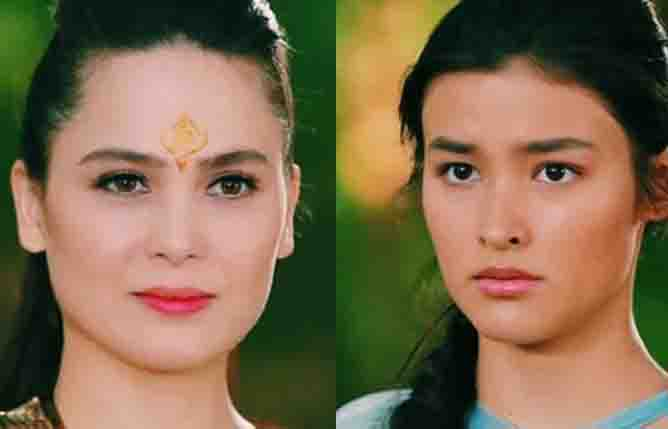"WATCH:  Kristine Hermosa and Liza Soberano come face to face in ""Bagani"""