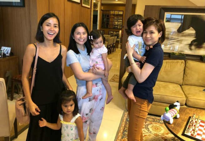 Big Brother's angels Toni Gonzaga, Mariel Padilla, and Bianca Gonzales reunite together with their adorable babies