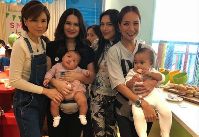Toni Gonzaga reunites with 'Eat Bulaga' mommies Pauleen Luna, Ciara Sotto, and Pia Guanio
