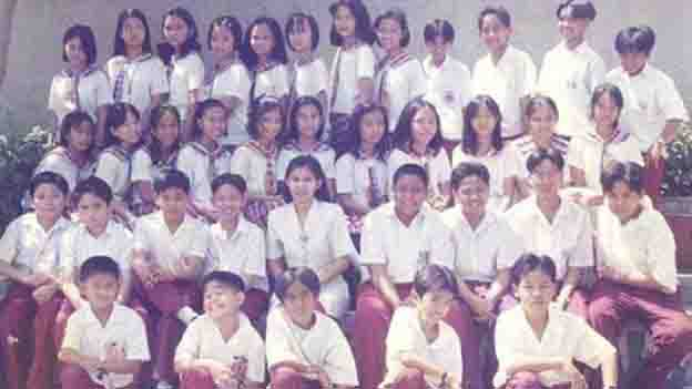 Can you spot where Angel Locsin is in this photo?