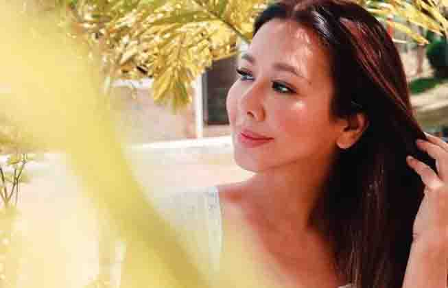 Korina Sanchez compliments her driver Ninoy who loves taking beautiful photos of her