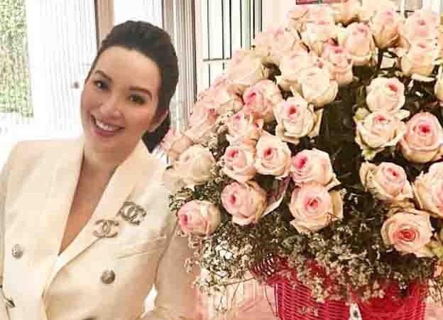 "Basher on Kris Aquino's flowers:  ""Binili mo for yourself?""; Kris reacts"