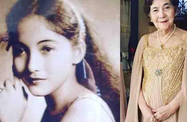 Mommy Eva Carino-Padilla:  Then And Now