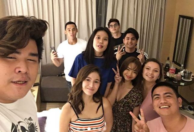 Barbie Imperial spotted with Paul Salas during 'Starstruck Kids' mini reunion