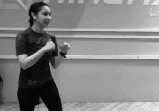 Ryza Cenon undergoes military self-defense training for 'The General's Daughter'