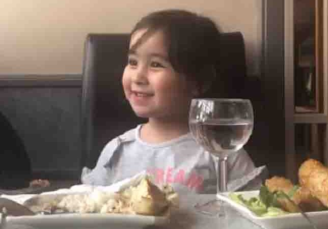 Scarlet Snow practices her British accent for her trip to England