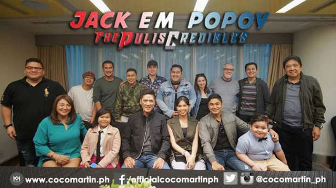 First look at the cast of Vic-Maine-Coco MMFF entry 'Jack Em Popoy: The Puliscredibles'