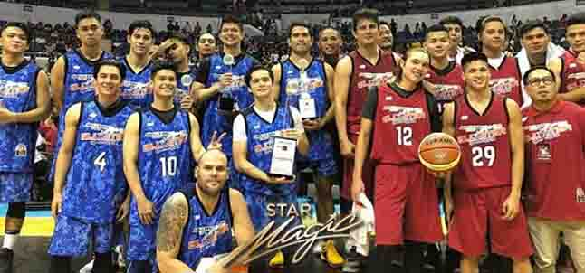Team Gerald Anderson wins over Daniel Padilla's team in All-Star basketball game
