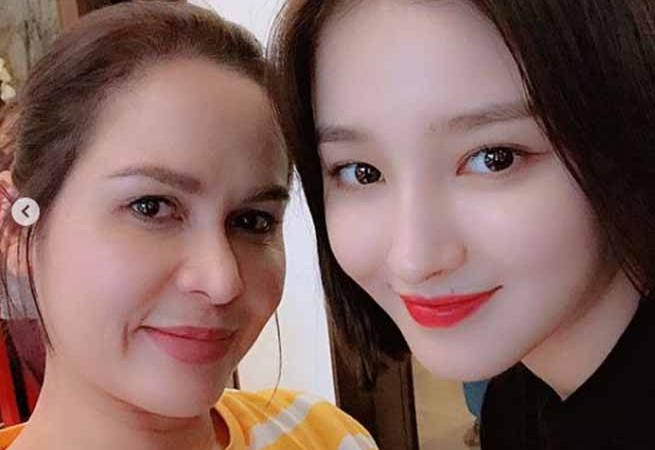 """Jinkee Pacquiao gushes over Nancy of 'Momoland': """"Ang ganda nitong batang ito!"""""""