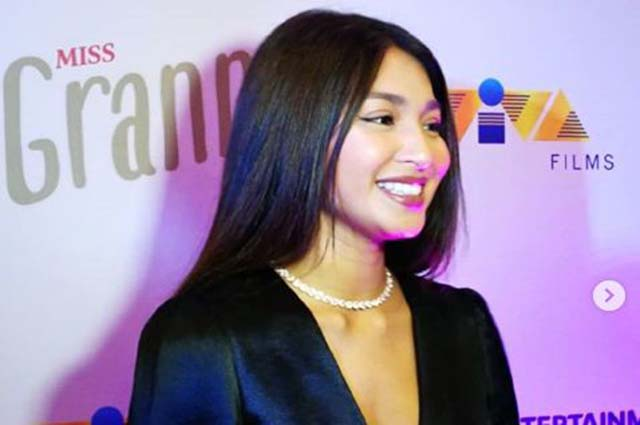 Nadine Lustre breaks her silence about allegedly not having reserved seat in 'Miss Granny' premiere night