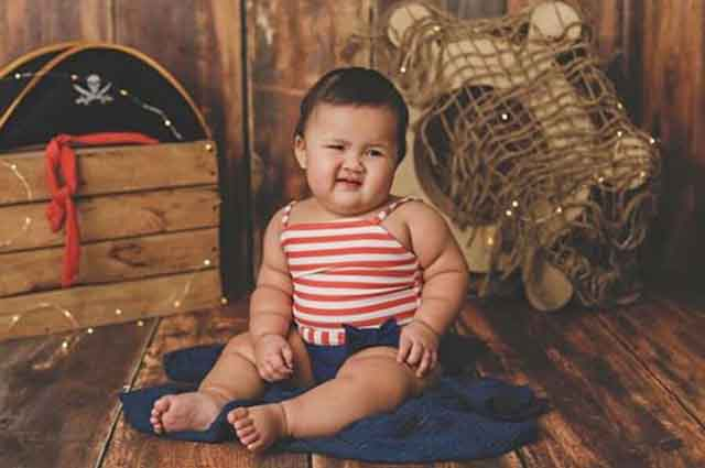 LOOK: Baby Tali charms netizens in an adorable photo shoot