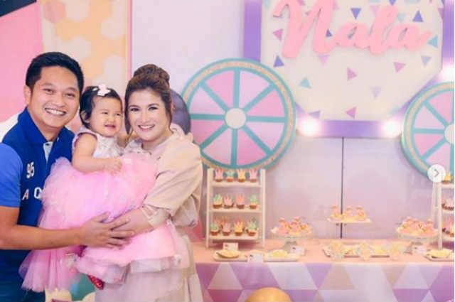 Camille Prats' daughter Nala celebrates her first birthday like a princess