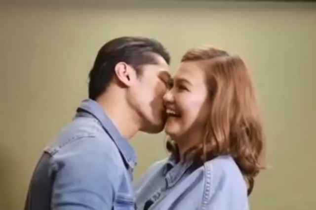 WATCH: Angelica Panganiban and Carlo Aquino take on a kissing challenge
